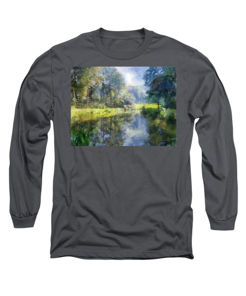 Brookside Long Sleeve T-Shirt by Francesa Miller