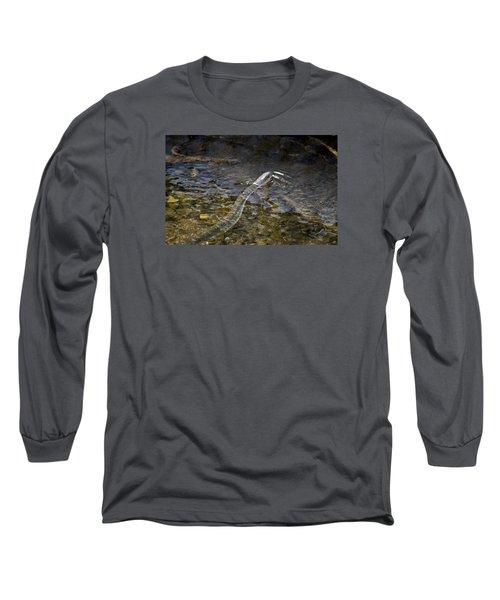 Brown Water Snake Long Sleeve T-Shirt