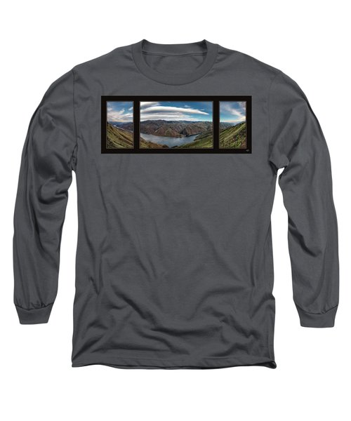 Brownlee Triptych Long Sleeve T-Shirt by Leland D Howard
