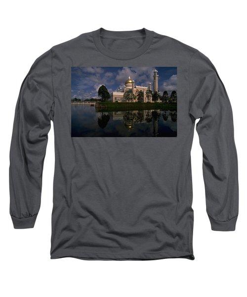 Brunei Mosque Long Sleeve T-Shirt