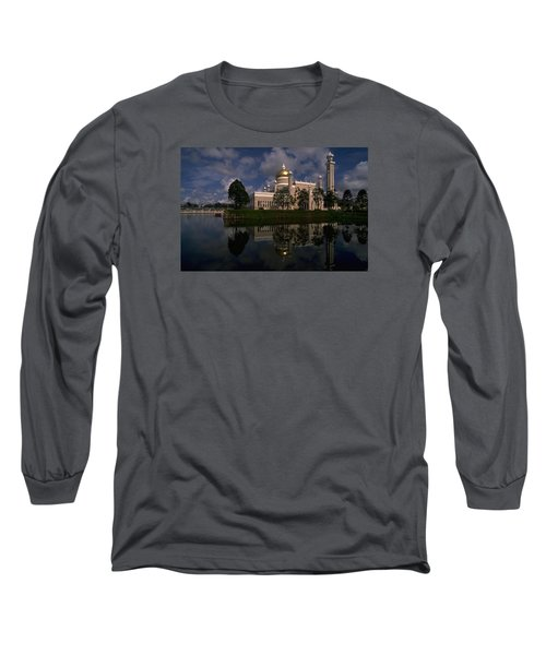 Long Sleeve T-Shirt featuring the photograph Brunei Mosque by Travel Pics