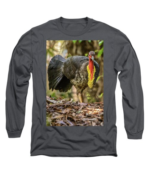 Brush Turkey Long Sleeve T-Shirt