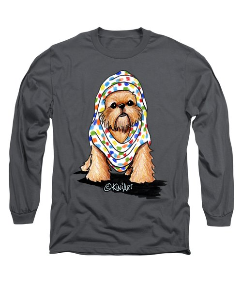 Brussels Griffon Beauty Long Sleeve T-Shirt by Kim Niles