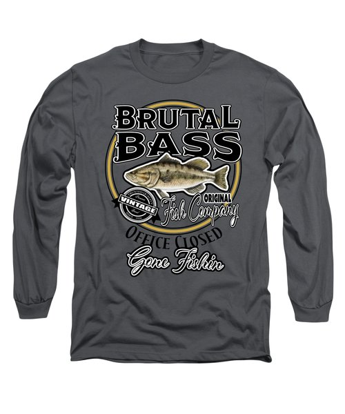Brutal Bass Long Sleeve T-Shirt