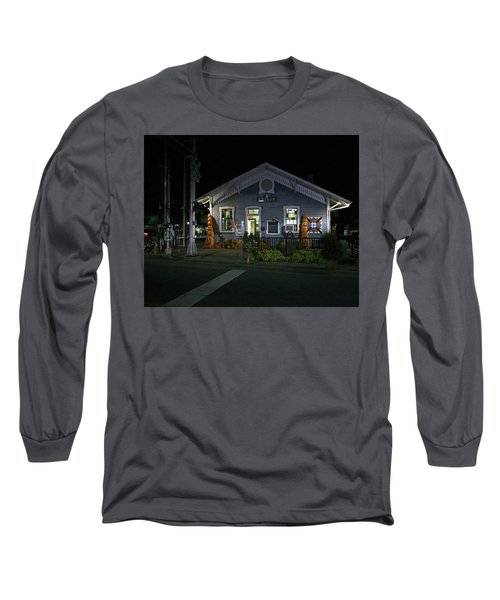 Bryson City Train Station Long Sleeve T-Shirt