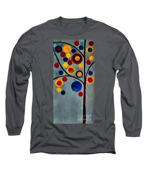 Bubble Tree - Dps02c02f - Left Long Sleeve T-Shirt