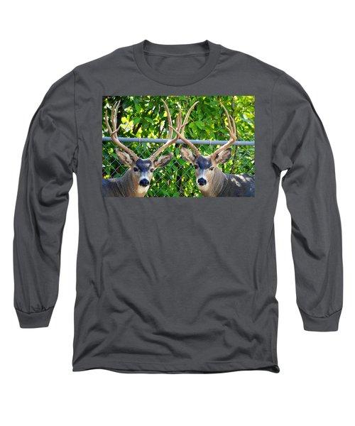 Buck Eyes Long Sleeve T-Shirt