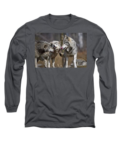 Long Sleeve T-Shirt featuring the photograph Buddy You Are Just Not Listening by Michael Cummings