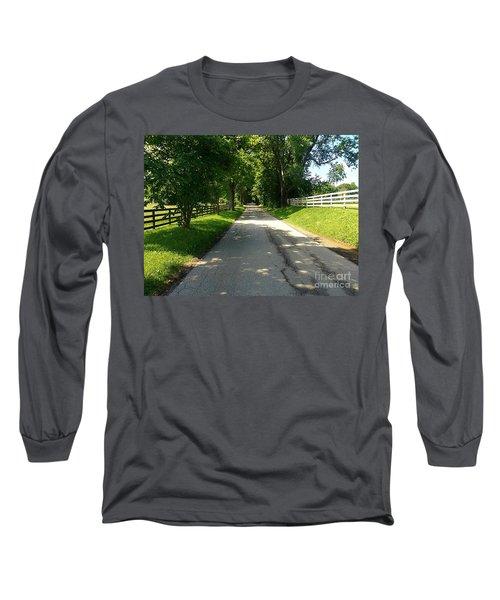 Bluegrass Morning Long Sleeve T-Shirt