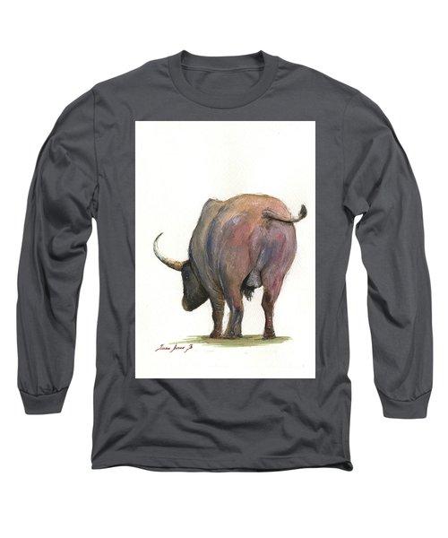 Buffalo Back Long Sleeve T-Shirt