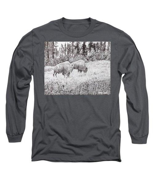 Buffalo Long Sleeve T-Shirt