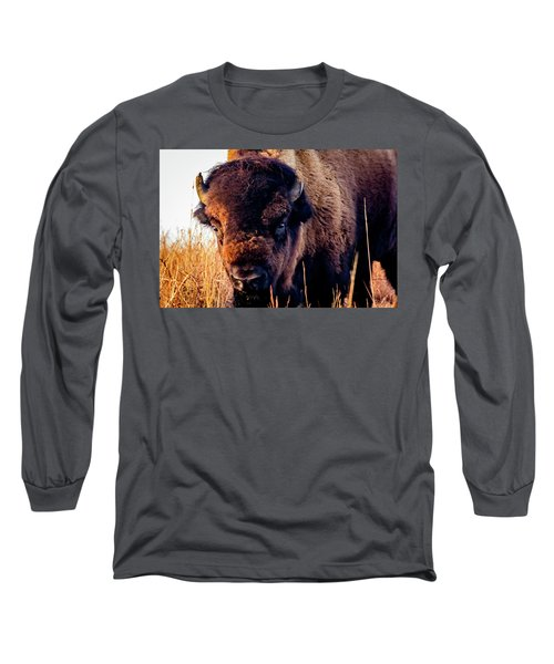 Buffalo Face Long Sleeve T-Shirt
