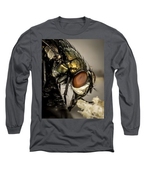 Long Sleeve T-Shirt featuring the photograph Bug On A Bug by Chris Cousins