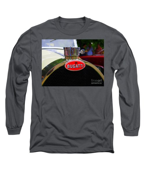Bugatti Red Long Sleeve T-Shirt
