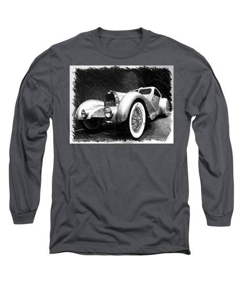 Bugatti Type 57 Aerolithe Long Sleeve T-Shirt