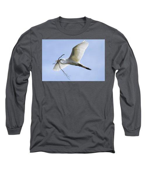 Building A Home Long Sleeve T-Shirt