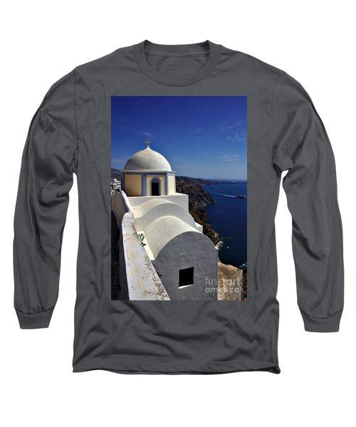 Building In Fira Long Sleeve T-Shirt
