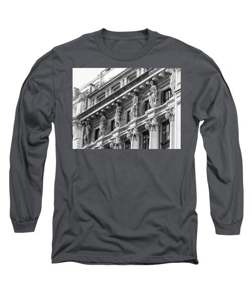 Long Sleeve T-Shirt featuring the photograph Building by Silvia Bruno
