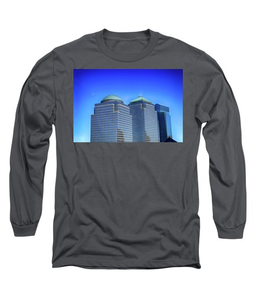 Buildings 2,3,4 In New York's Financial District Long Sleeve T-Shirt