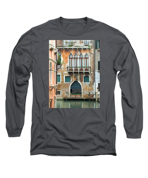 Buildings Of Venice Long Sleeve T-Shirt