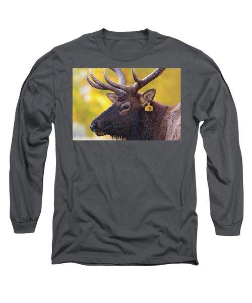 Bull Elk Number 10 Long Sleeve T-Shirt