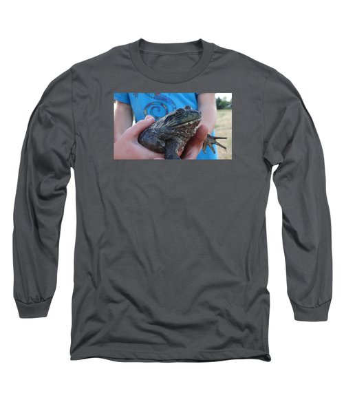Bull  Long Sleeve T-Shirt by Eric Dee