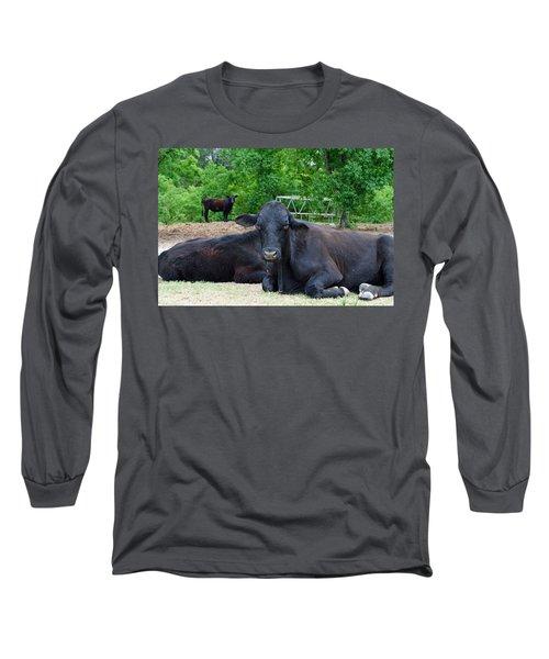 Bull Relaxing Long Sleeve T-Shirt