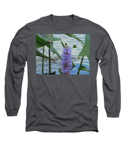 Bumblebee Pickerelweed Moth Long Sleeve T-Shirt