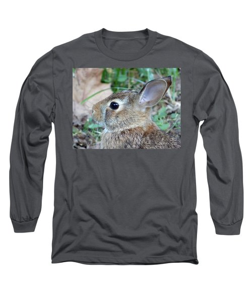 Bunny Portrait Long Sleeve T-Shirt
