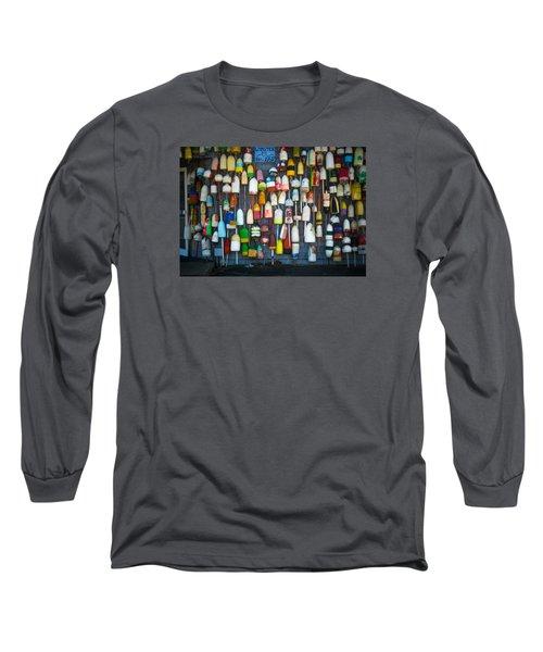 Buoys, Martha's Vineyard Long Sleeve T-Shirt