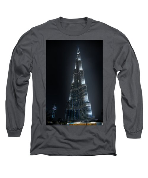 Burj Khalifa Long Sleeve T-Shirt