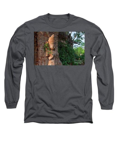 Long Sleeve T-Shirt featuring the photograph Burma_d195 by Craig Lovell