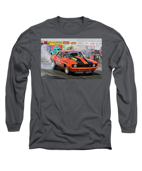 Burn Out Cooper Racing Long Sleeve T-Shirt