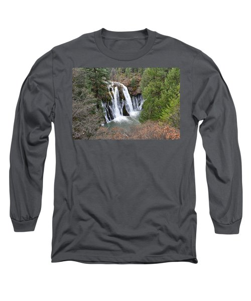 Burney Falls Long Sleeve T-Shirt