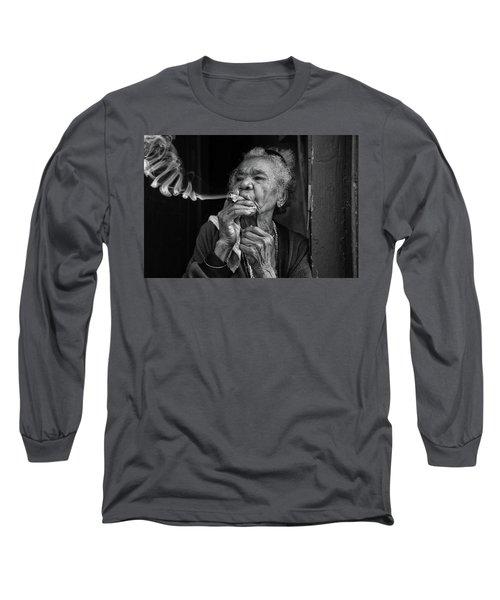 Burning Money Long Sleeve T-Shirt