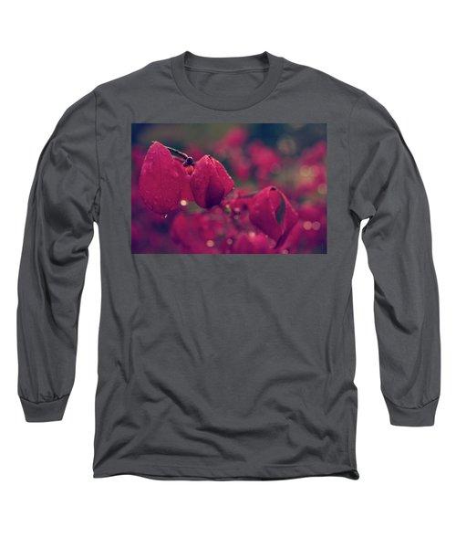 Burning Red Long Sleeve T-Shirt