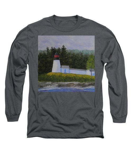 Burnt Island Light Long Sleeve T-Shirt