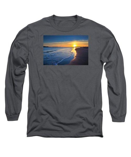 Burry Port Beach Long Sleeve T-Shirt