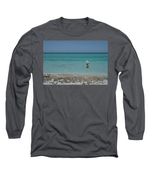 Buscando La Carnada Long Sleeve T-Shirt