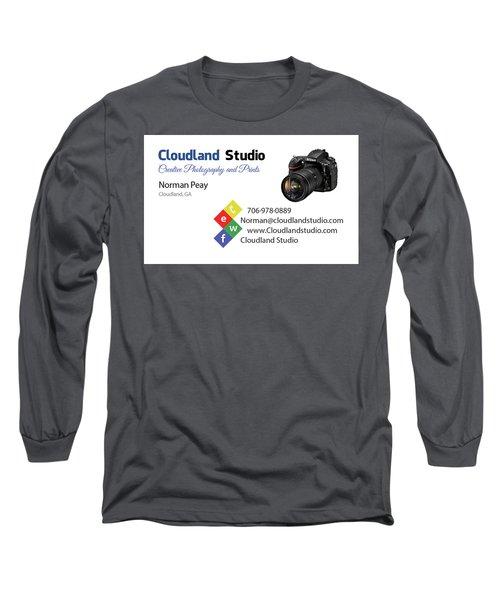 Business Card Long Sleeve T-Shirt