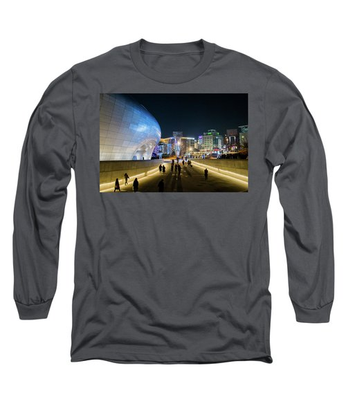 Busy Night Long Sleeve T-Shirt