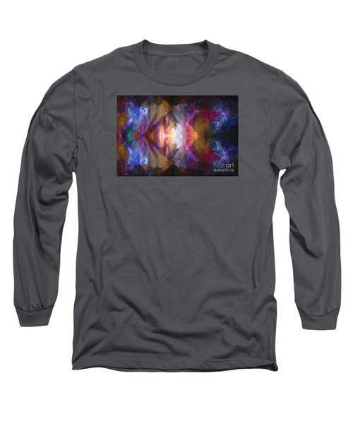 Busy Street Long Sleeve T-Shirt by Jim  Hatch