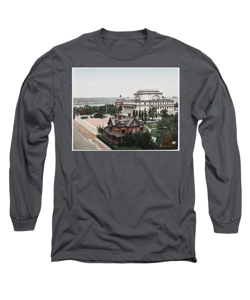 Butler Library At Columbia University Long Sleeve T-Shirt