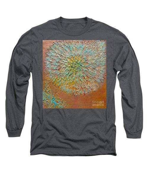 Butterfly Flower Long Sleeve T-Shirt