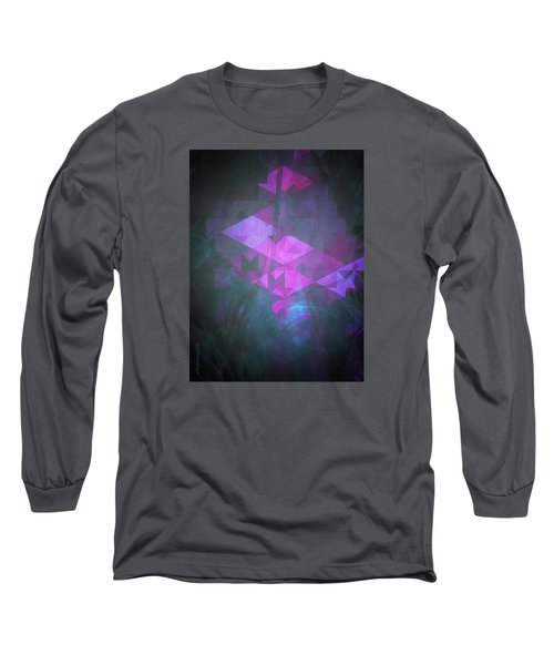 Long Sleeve T-Shirt featuring the digital art Butterfly Dreams by Mimulux patricia no No