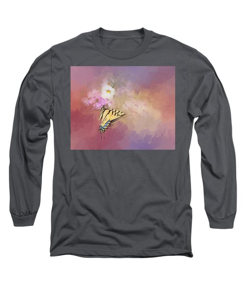 Long Sleeve T-Shirt featuring the photograph Butterfly Dreams by Theresa Tahara