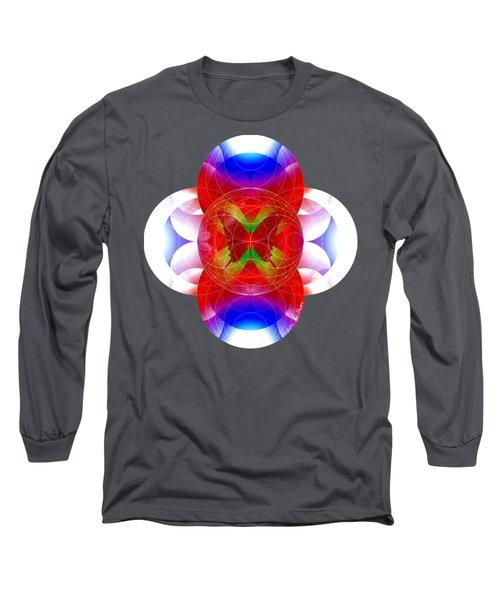 Butterfly Effect Long Sleeve T-Shirt by Iowan Stone-Flowers