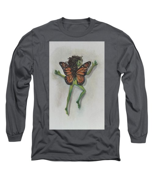 Butterfly Fairy Long Sleeve T-Shirt