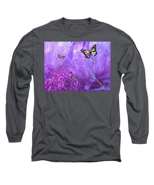 Butterfly Fantasy Long Sleeve T-Shirt