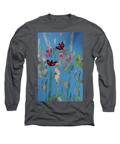Butterfly Glads Long Sleeve T-Shirt